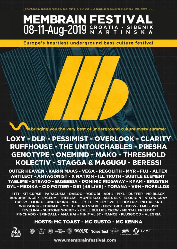 Membrain Festival flyer