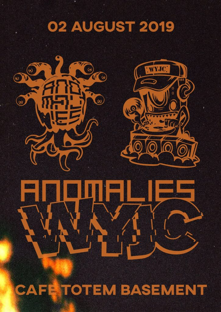 WYJC x Anomalies, 2/8/2019, Cafe Totem Basement, Sheffield.