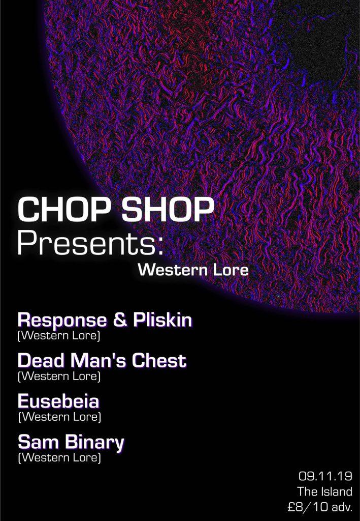 Chop Shop flyer
